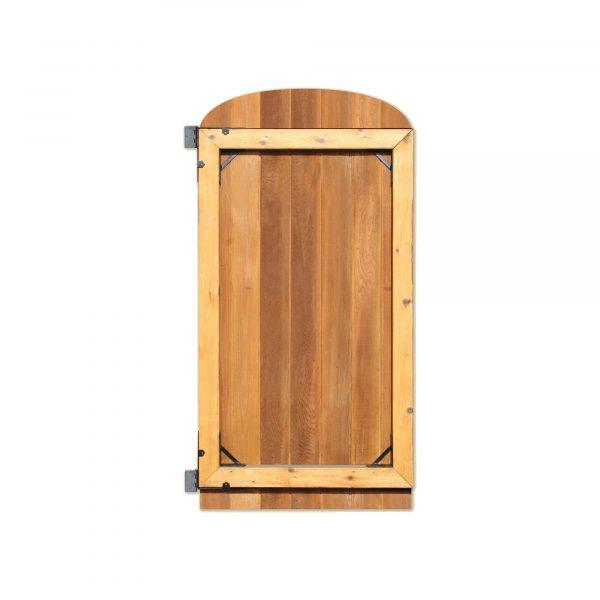 GCBHK01 - BLACK GALVANIZED STEEL GATE CORNER FRAME BRACE AND HINGE KIT