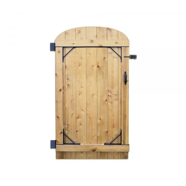 HGCBHK01 - BLACK GALVANIZED STEEL HEAVY DUTY GATE CORNER FRAME BRACE AND HARDWARE KIT