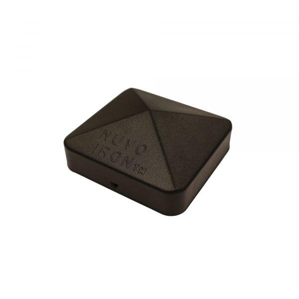 """PCP11BLK - 4"""" x 4"""" BLACK EAZY-CAP™ PATENTED PYRAMID POST CAP"""
