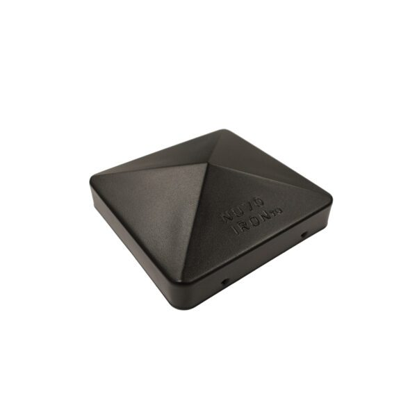 """PCP12BLK - 6"""" x 6"""" BLACK EAZY-CAP™ PATENTED PYRAMID POST CAP"""