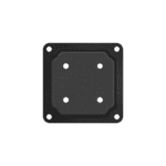 """WPCP4B - BLACK 4"""" x 4"""" WOOD POST CONNECTOR PLATE"""